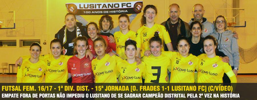 4fdf5a2899 A equipa sénior de Futsal Feminino sagrou-se no passado Sábado