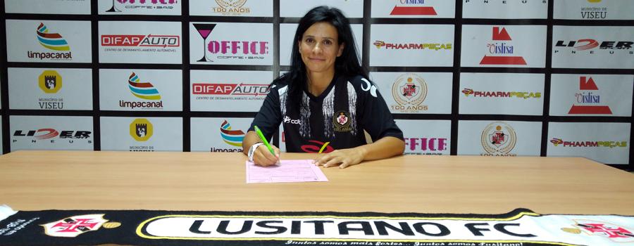 068be3538d O Lusitano Futebol Clube informa que chegou acordo com a atleta Ana Valente  para representar a equipa de Futsal Feminino do clube na época 2016-2017.